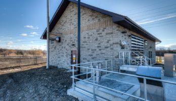 Speedsville Pumping Station Exterior