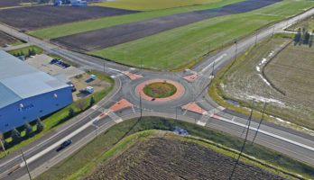 Ament Line and Herrgott Road Roundabout