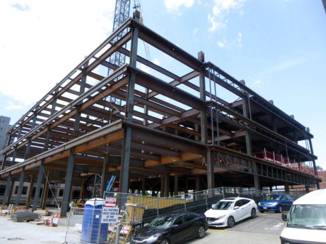 Structural skeleton of a building