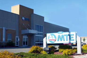 MTE's office in Kitchener, Ontario