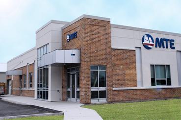 MTE's office in Stratford, Ontario