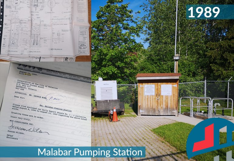 Engineering designs of a sewage pumping station
