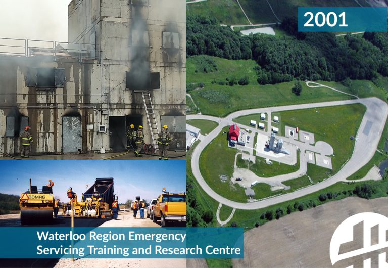 Design and construction of the Waterloo Region Emergency Servicing Training and Research Centre