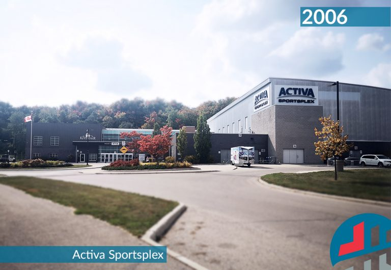 Activa Sportsplex; a City of Kitchener recreational facility