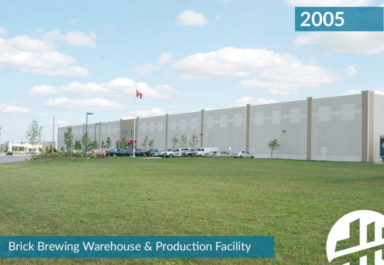 Brick Brewing Warehouse and Production Facility