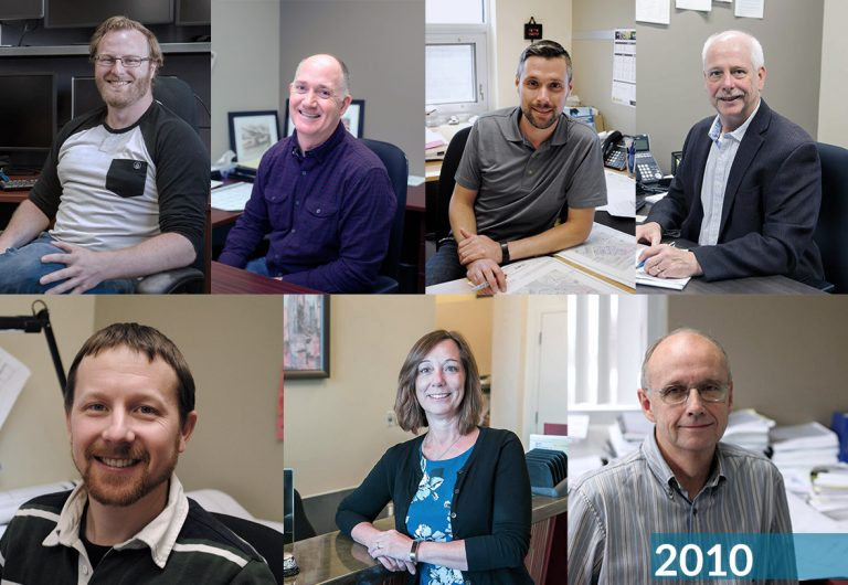 Staff who joined MTE in 2010