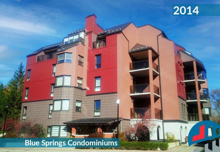 A low-rise condominium building envelope repair
