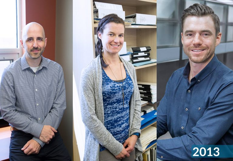 Three employees who joined MTE in 2013