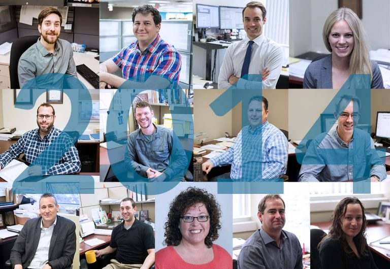 13 employees who joined MTE in 2014