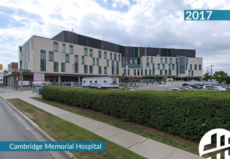 Structural redevelopment of Cambridge Memorial Hospital