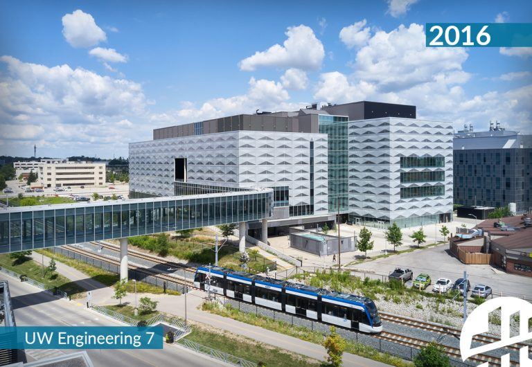 The University of Waterloo's Engineering 7 building