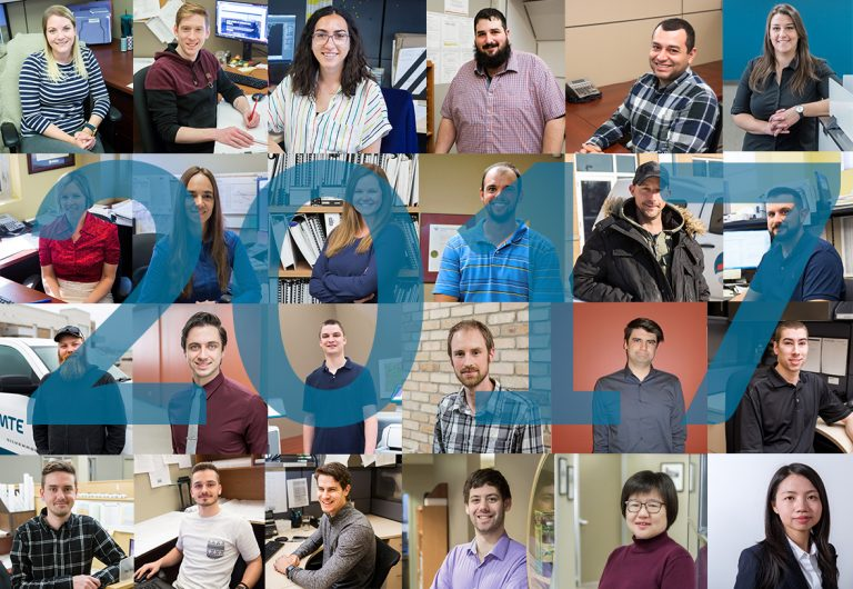 Staff who joined MTE in 2017