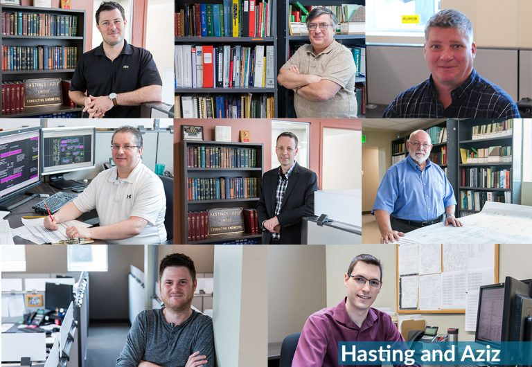 A collage of staff acquired by MTE in 2019