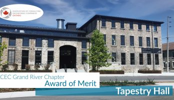 Tapestry Hall ACEC Grand River Chapter Award of Merit